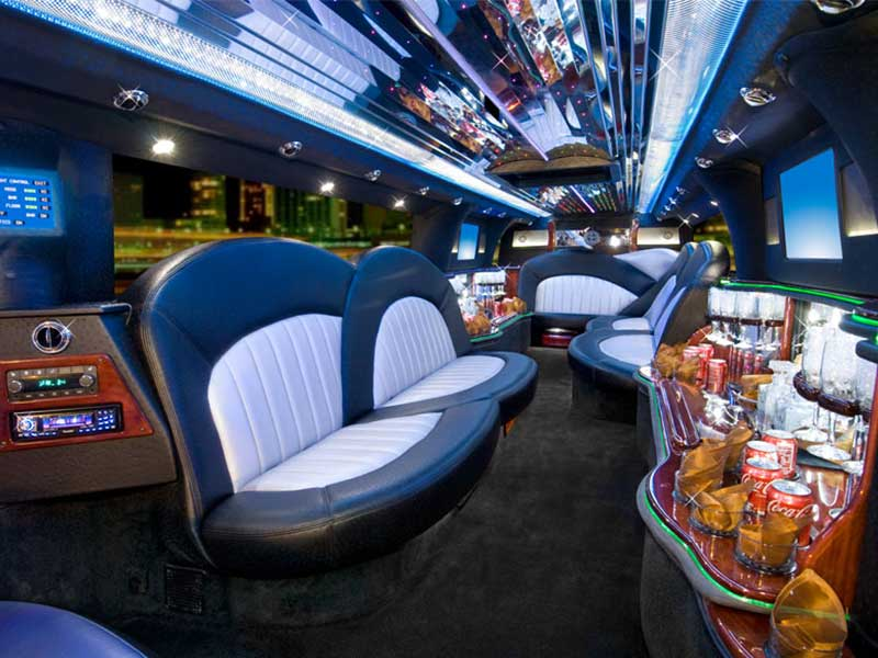 Custom design limo interior
