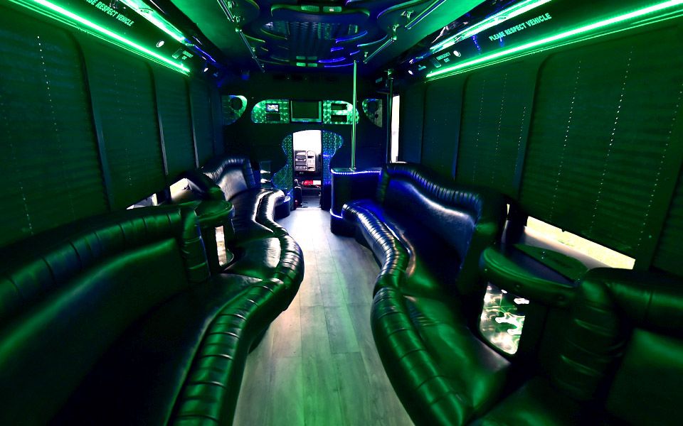 Club Party Bus interior design