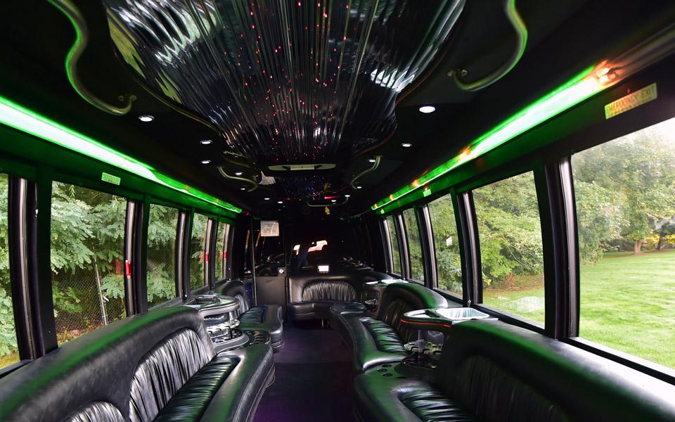 mega party bus lighting