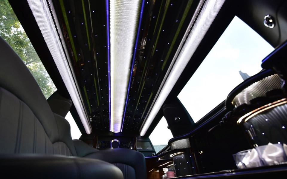 MKT limousine interior ceiling