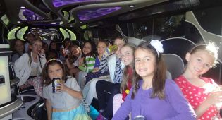 Kids Birthday Party Bus Limo Boston