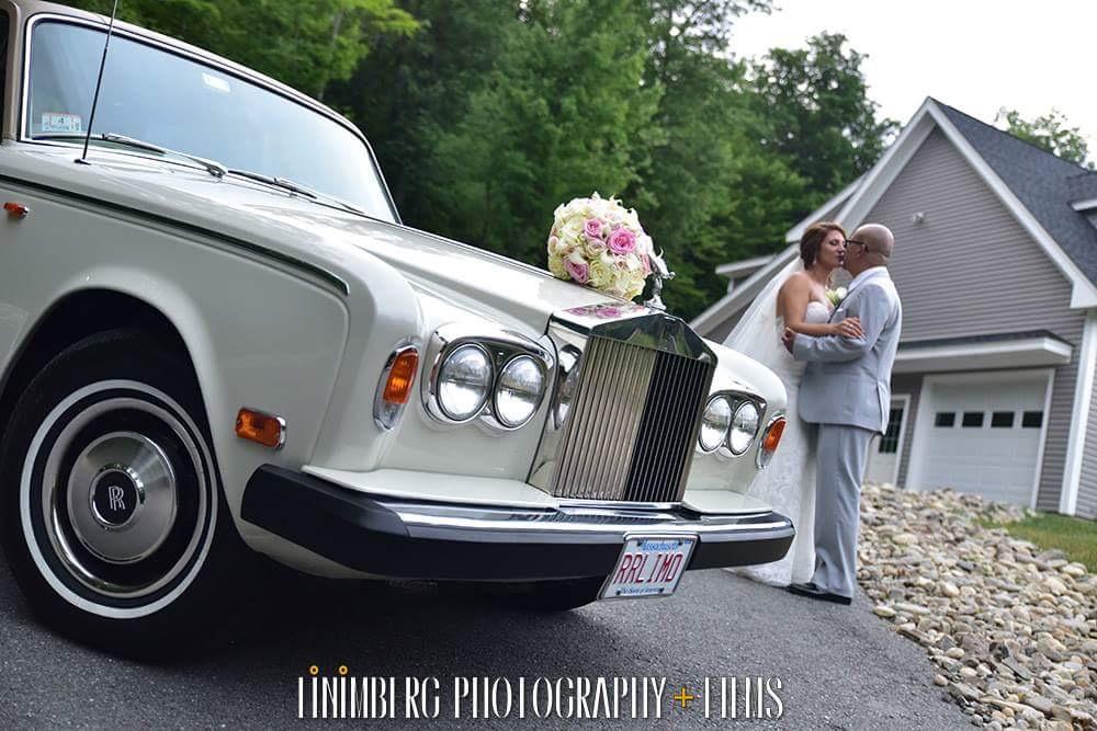 Rolls Royce Bride And Groom
