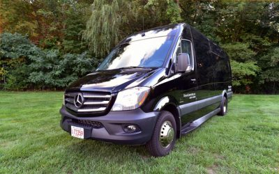 Mercedes Sprinter Mini Party Bus Exterior