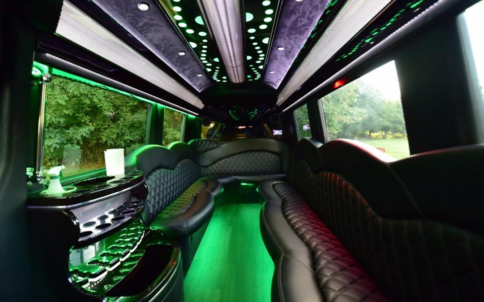 Mercedes Benz Sprinter Mini Party Bus In Boston Ma