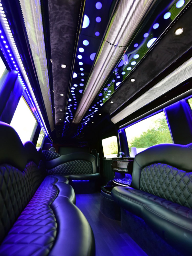 2016 Ford Transit >> Mercedes-Benz Sprinter Mini Party Bus in Boston, MA