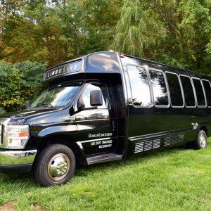 Mini Party Bus 18 22 Passengers Exterior