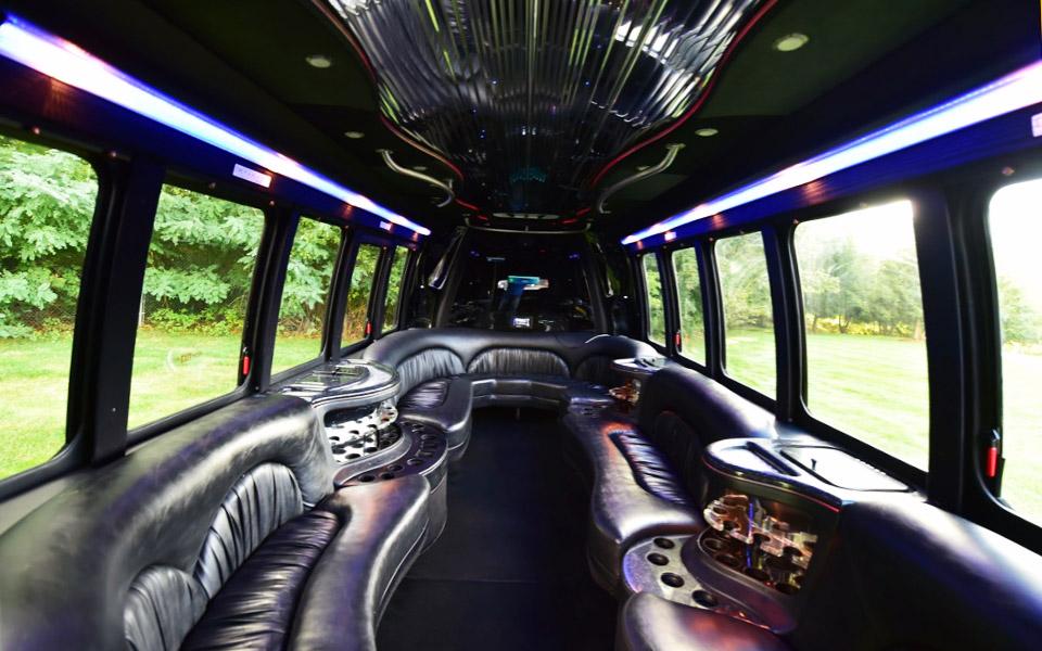 Mini-party-bus-18-22-passengers-interior