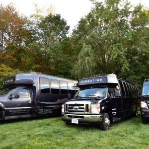 Party-bus-fleet-black-vehicles