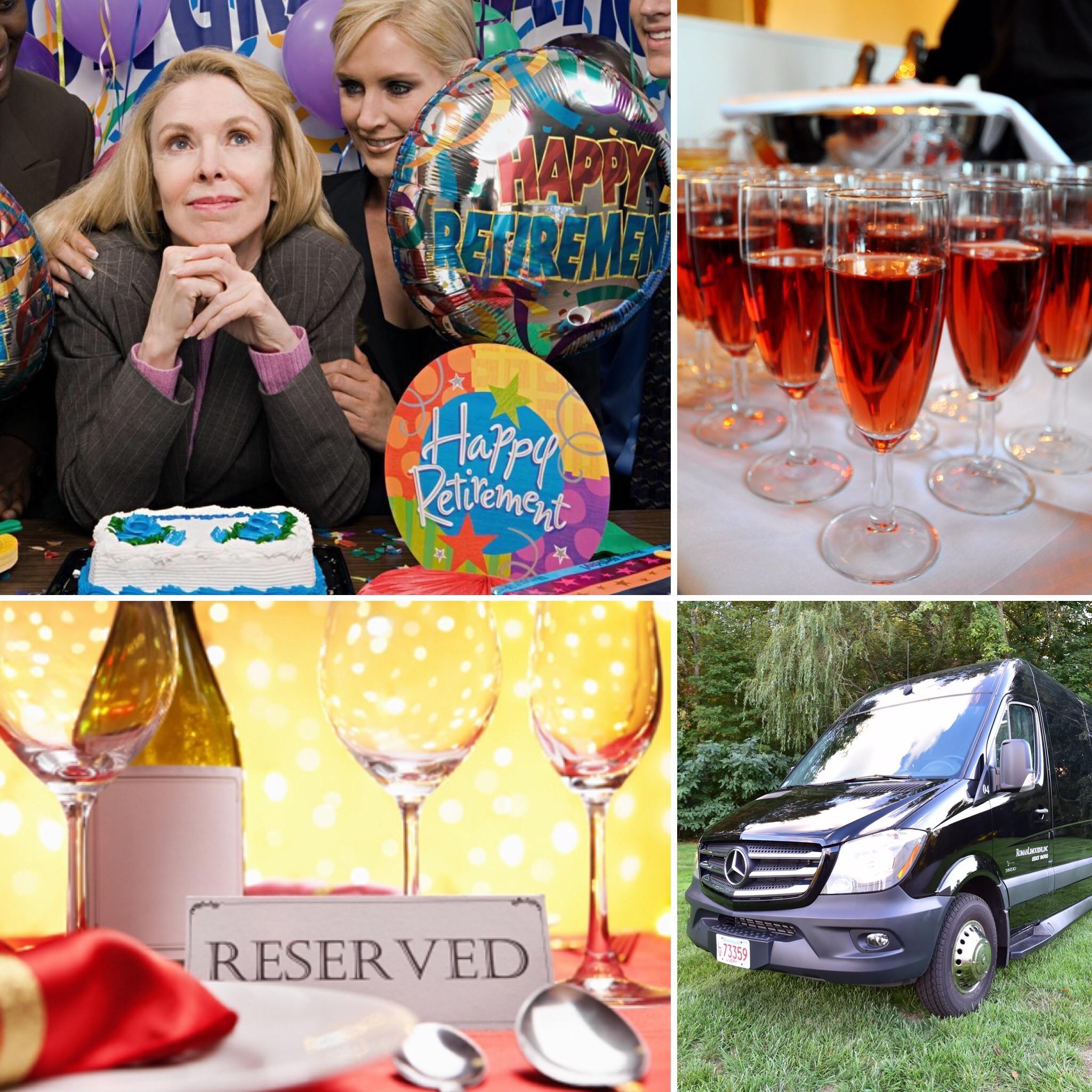 Retirement birthday party