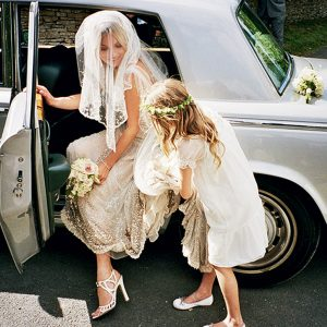 Rols Royce Clasic Car Wedding Service Bride