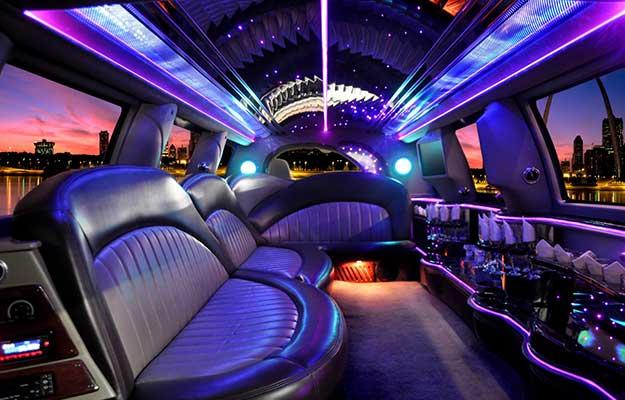 luxurious interior hummer limousine
