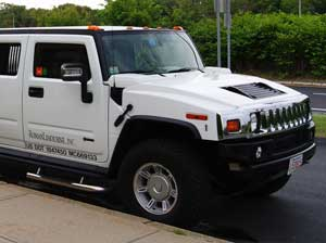 Hummer Limousine Red Carpet