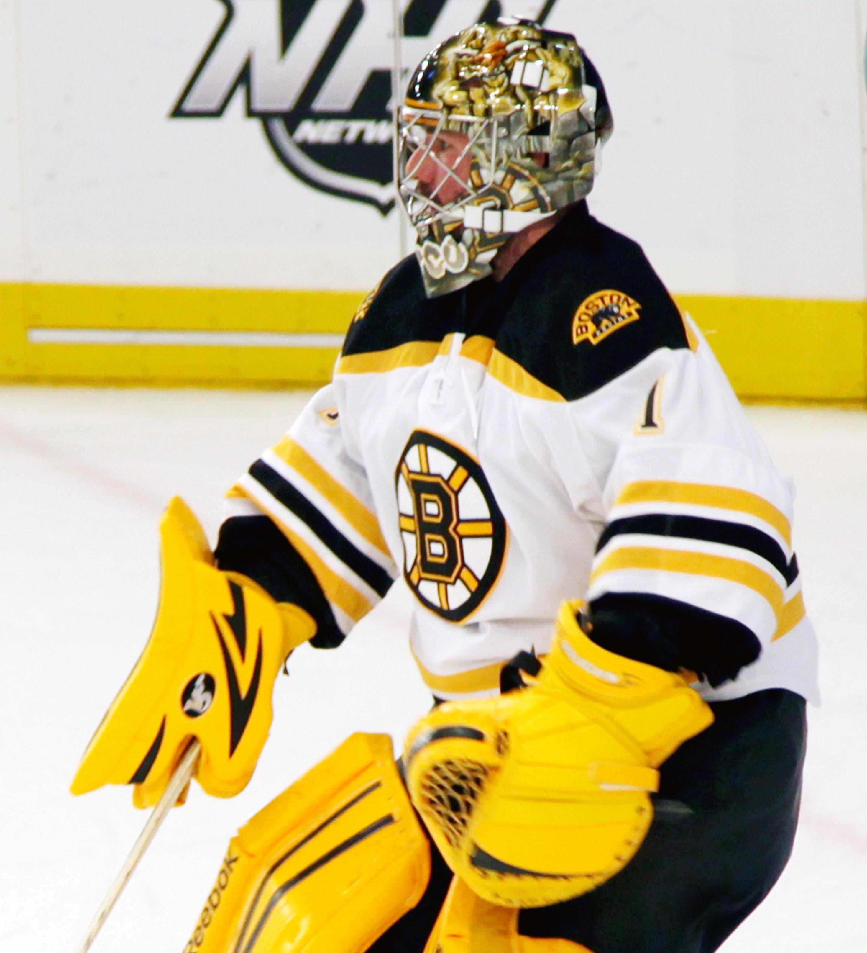 Boston Bruins goalkeeper