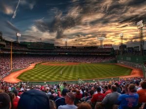 Boston-red-sox-luxury-limo-field