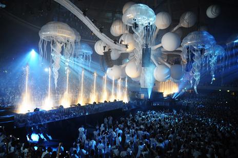Disco Club decorations