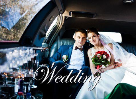 Roman Limousine Wedding