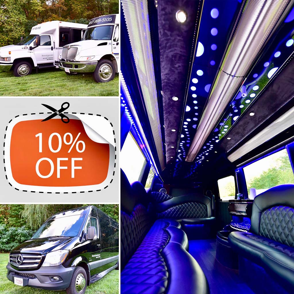 Party Bus Rental Discount