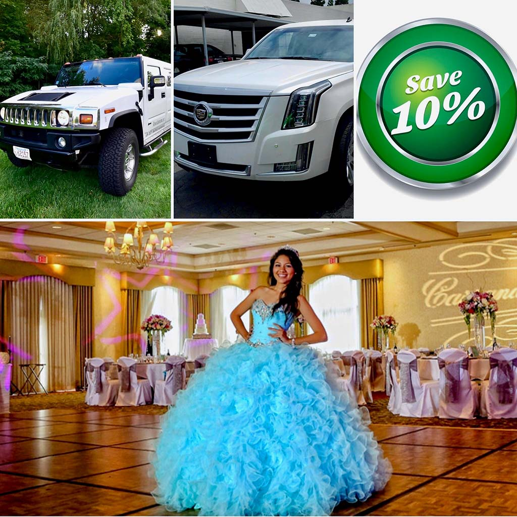 Quinceanera Limo Package