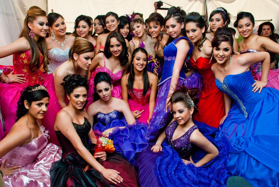 Quinceanera girls party