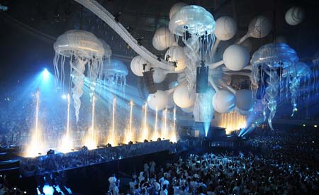 white sensation decoration