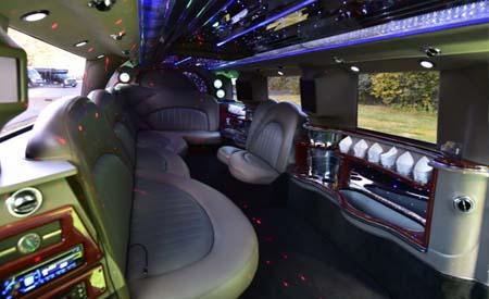 hummer limo setup