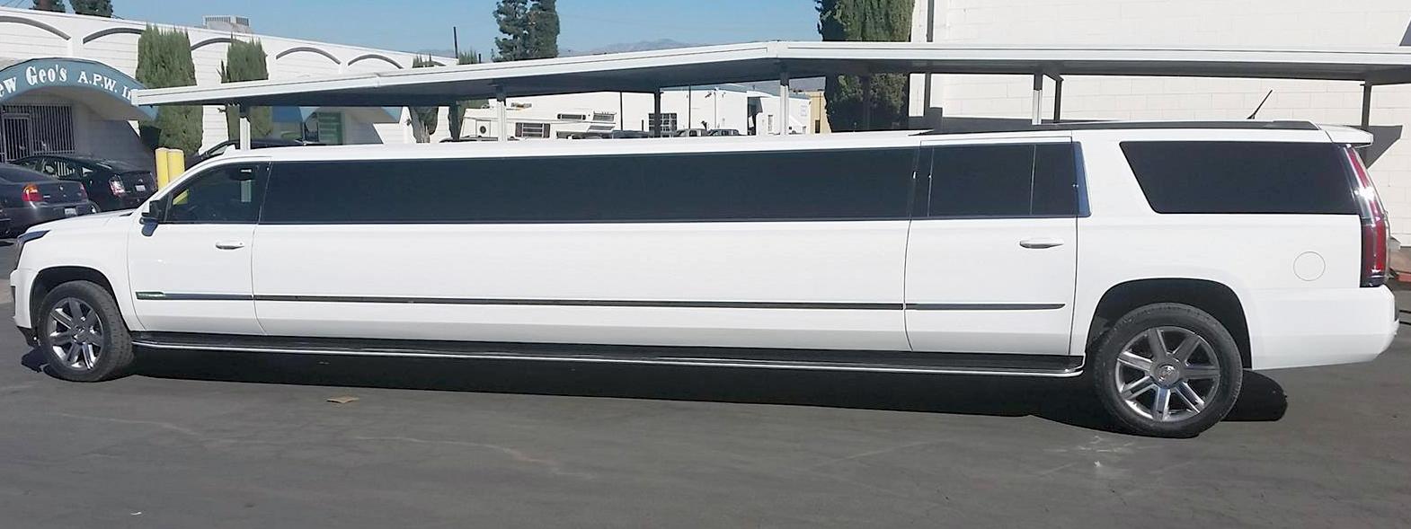 Cadillac Escalade Limousine side