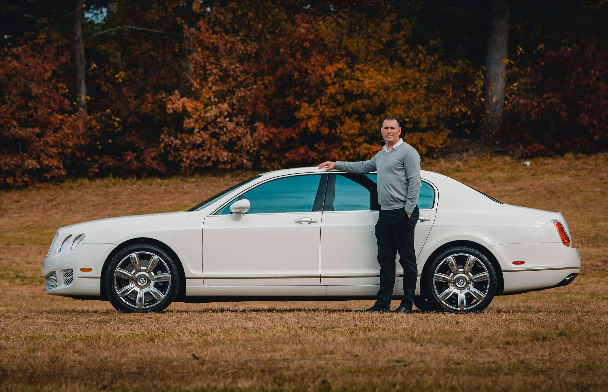 Classic Bentley Wedding Car Rental - Roman Limousine