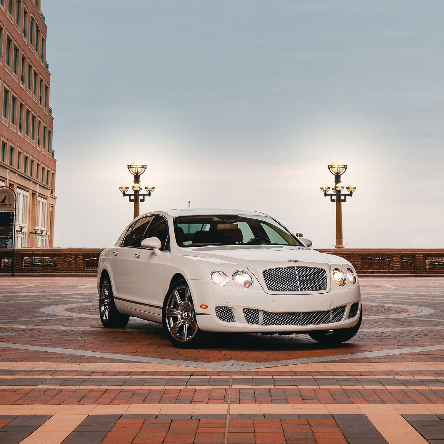 Bentley Cassic Wedding Car in Boston