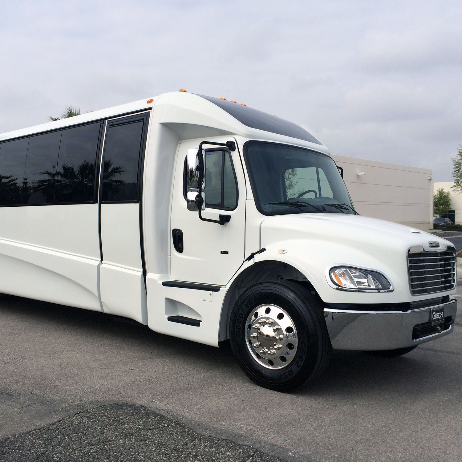 Grech Mega Party Bus rental price