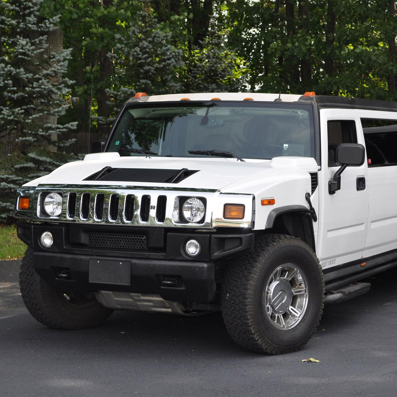 Hummer Limousine rental in Boston