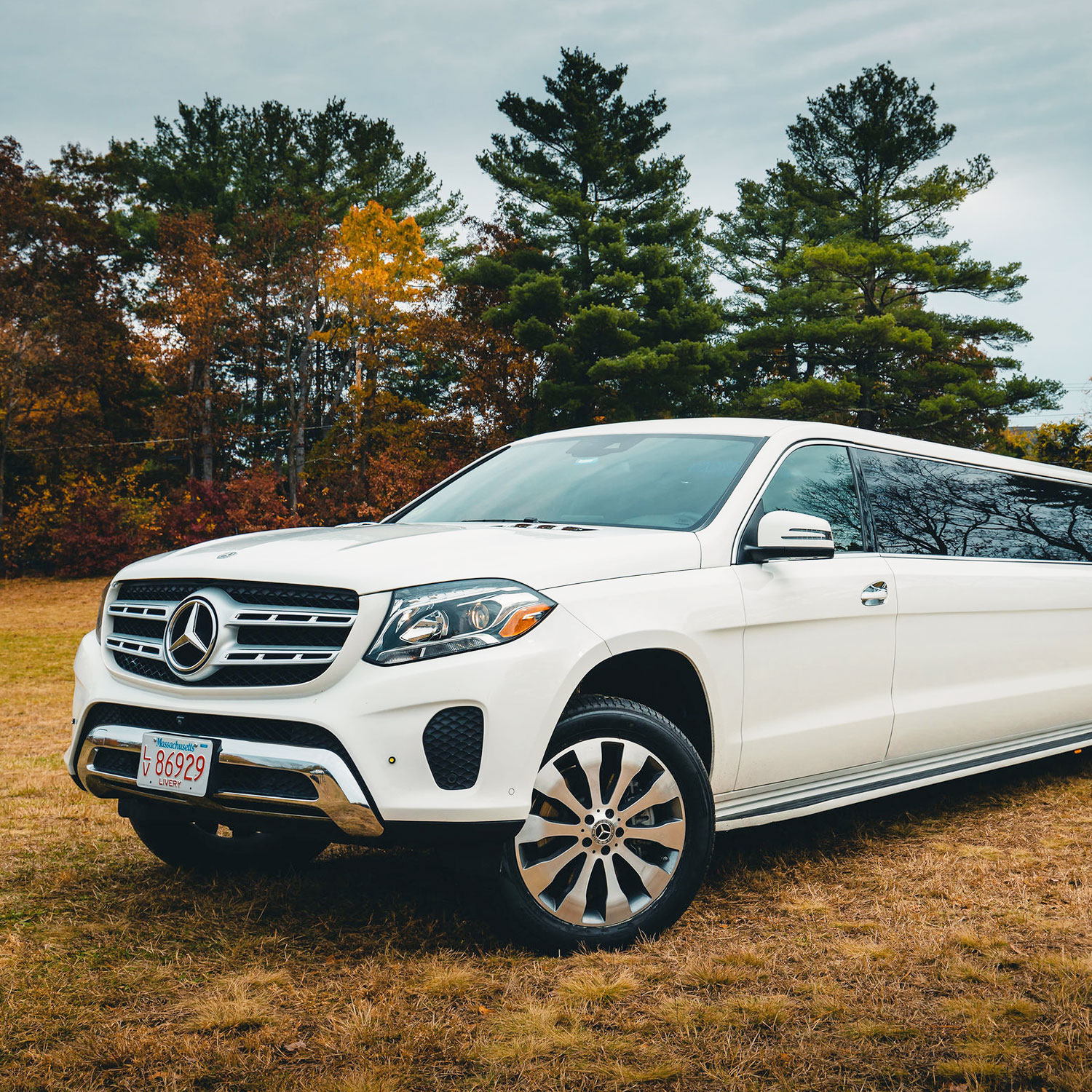 Mercedes GLS Limo - Stretch SUV Limo