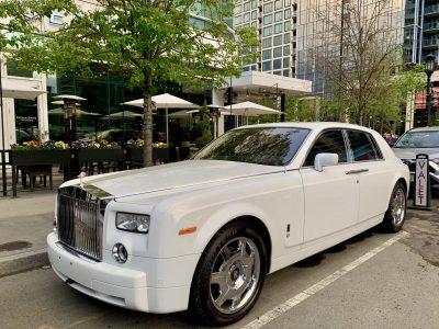 Rolls Royce Phantom For Weddings In Boston